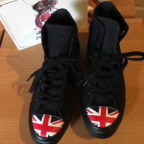c96254858ee6 Converse Shoes - NEW! RARE UNION JACK ENGLISH CHUCK TAYLOR CONVERSE